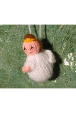 Titicaca knitted angel puppet