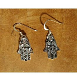 Shanti earrings Hamsa