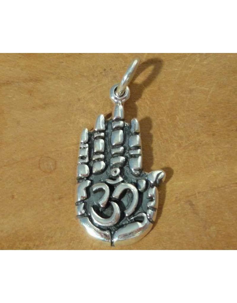 Shanti pendant hand of Buddha