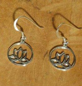 Shanti oorbellen lotus