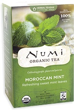 Numi Tea Mate Maroccon Mint