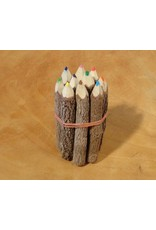 Kanika coloured pencils set of 10 pieces 9 cm