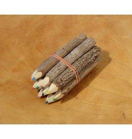 Kanika coloured pencils set of 10 pieces 9 cm