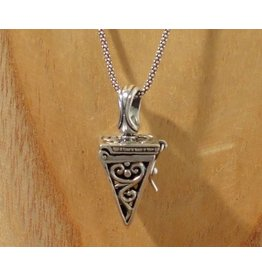 Keepsake locket pyramid