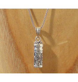 Keepsake locket tube armadillo