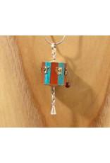 Tibetan pendant prayerwheel M