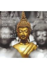ZintenZ postkaart Life isn't about finding yourself
