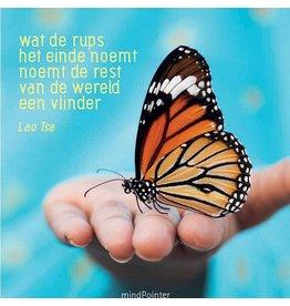 ZintenZ postcard Wat de rups het einde noemt