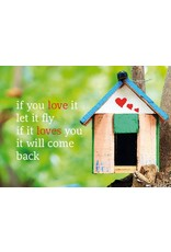 ZintenZ postcard If you love it