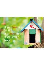 ZintenZ postkaart If you love it