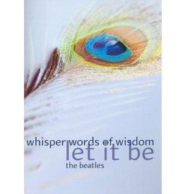 ZintenZ postcard Whisper words of wisdom