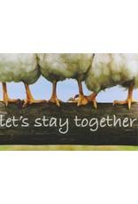 ZintenZ postcard Let's stay together