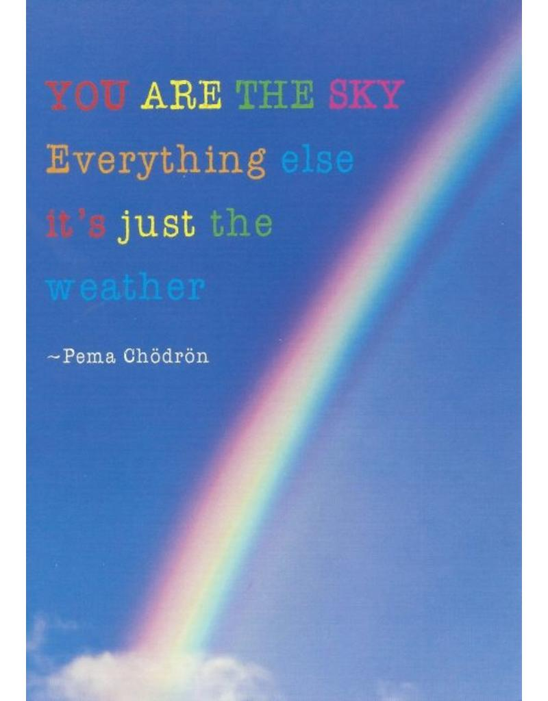 ZintenZ postcard You are the sky