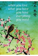 ZintenZ magneet When you love what you have