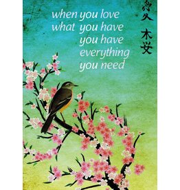 ZintenZ magnet When you love what you have