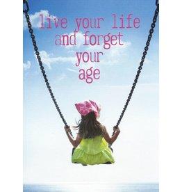 ZintenZ postcard Live your life