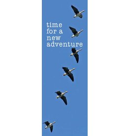 ZintenZ bookmark Time for a new adventure