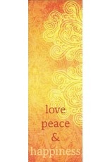 ZintenZ boekenlegger Love peace & happiness