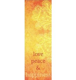 ZintenZ bookmark Love peace & happiness