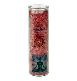Yogi & Yogini scented candle Chakra 1 Muladhara