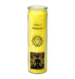 Yogi & Yogini scented candle Chakra 3 Manipura