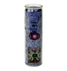 Yogi & Yogini scented candle Chakra 6 Ajna