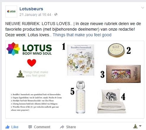 Lotusbeurs facebook