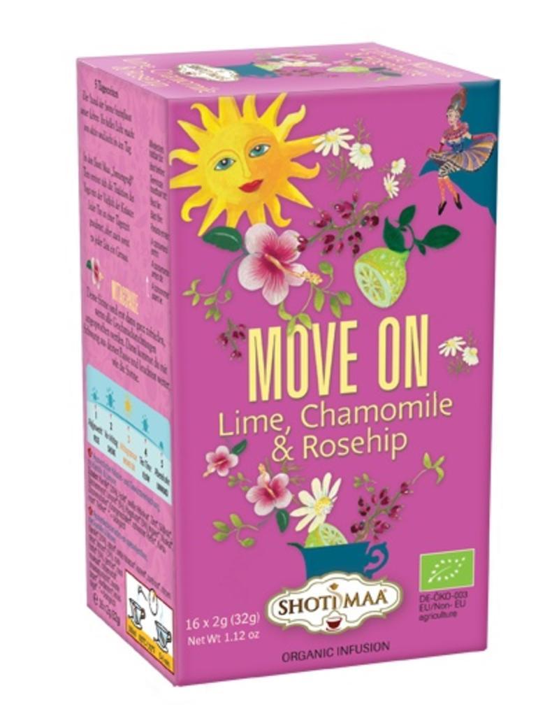 Shoti Maa sundial tea: Move on