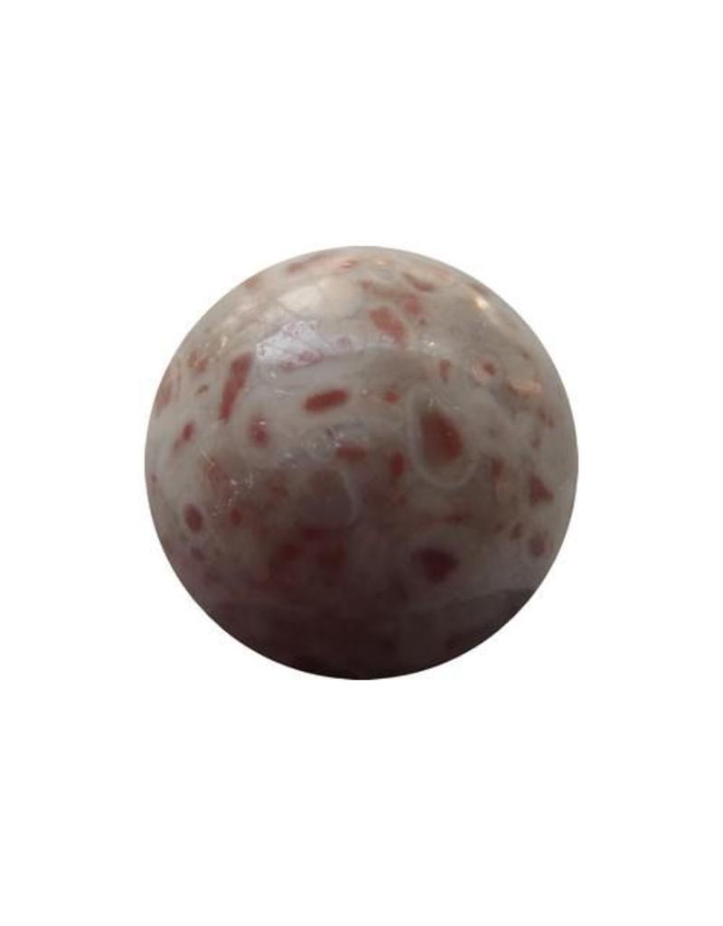 Interchangeable gemstone red kamballa Jasper 12 mm