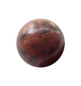 Wisselsteen Obsidiaan 12 mm