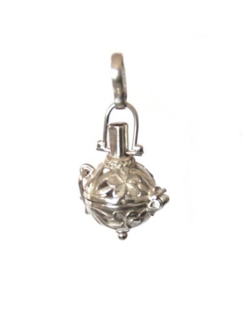 Gemstone holder pendant Bottle flower 10 mm