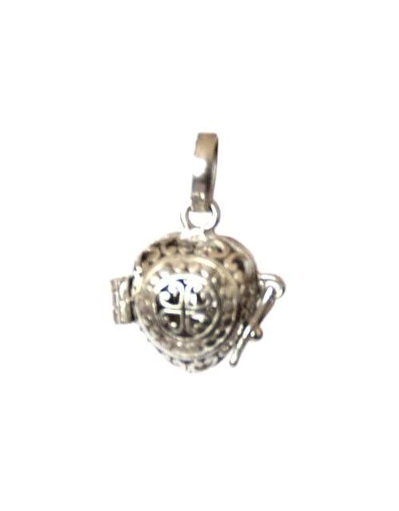 Gemstone holder pendant Heart 10 mm