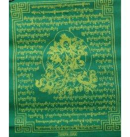 Dakini Tibetaanse gebedsvlaggen Groene Tara