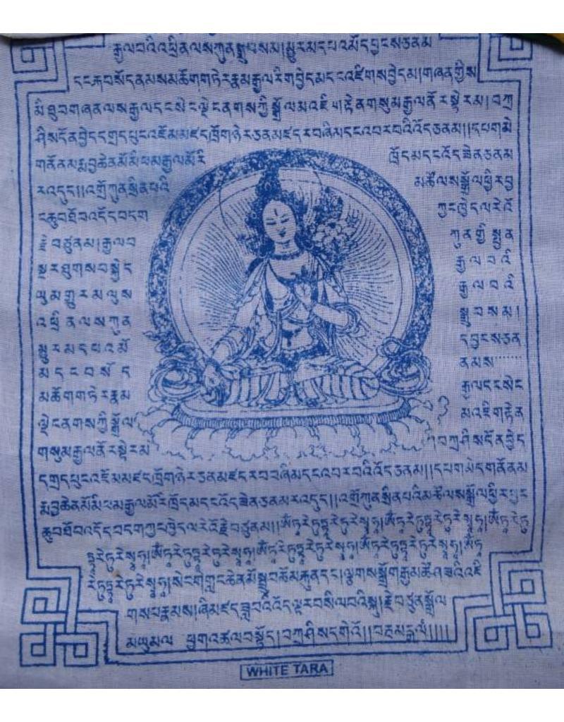 Dakini Tibetaanse gebedsvlaggen Witte Tara