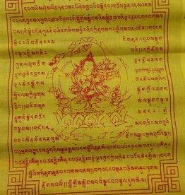 Dakini Tibetaanse gebedsvlaggen Manjushri