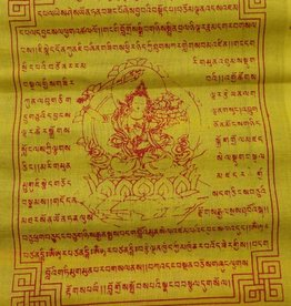 Dakini Tibetan prayer flags Manjushri