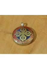 Dakini Tibetan pendant Vishravajra