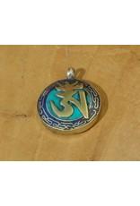 Dakini Tibetan pendant Om