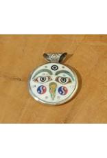 Dakini Tibetan pendant Eyes of Buddha