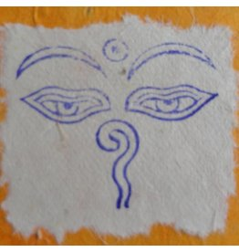 Dakini stamp Eyes of Buddha