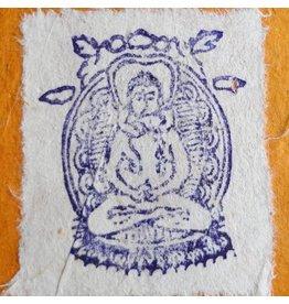 Dakini stempel Samantabhadra