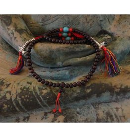 Dakini Mala rosewood dark with counters