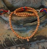 Dakini Mala with light rosewood, Ohm beads and counters