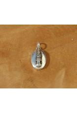 Dakini oval pendant birthday Buddha wednesday