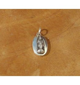 Dakini pendant birthday Buddha 5 friday oval