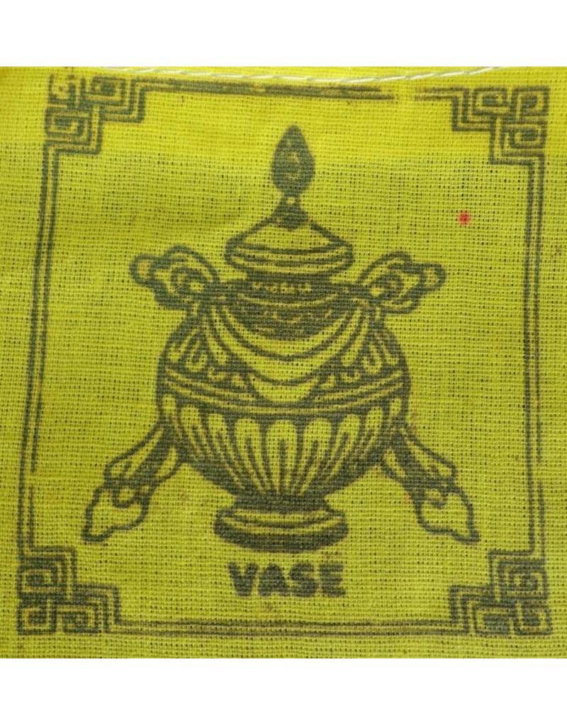 Dakini Tibetan prayer flags mini auspicious symbols