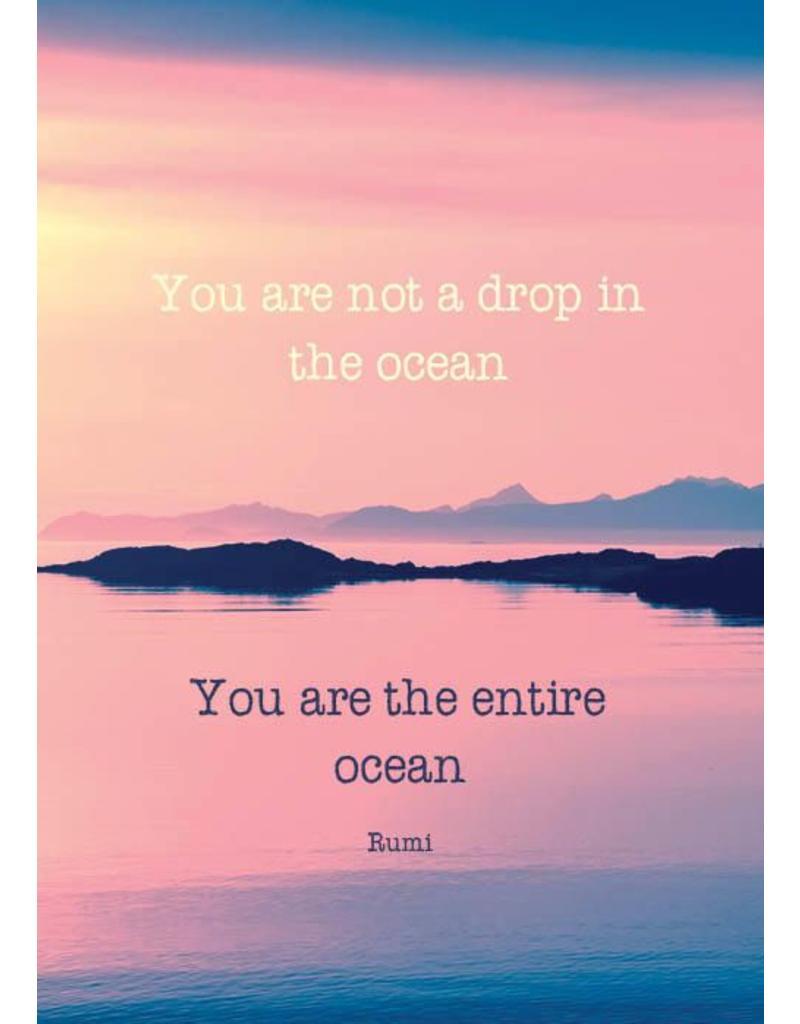 ZintenZ postkaart You are not a drop
