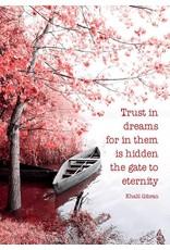 ZintenZ postkaart Trust in dreams