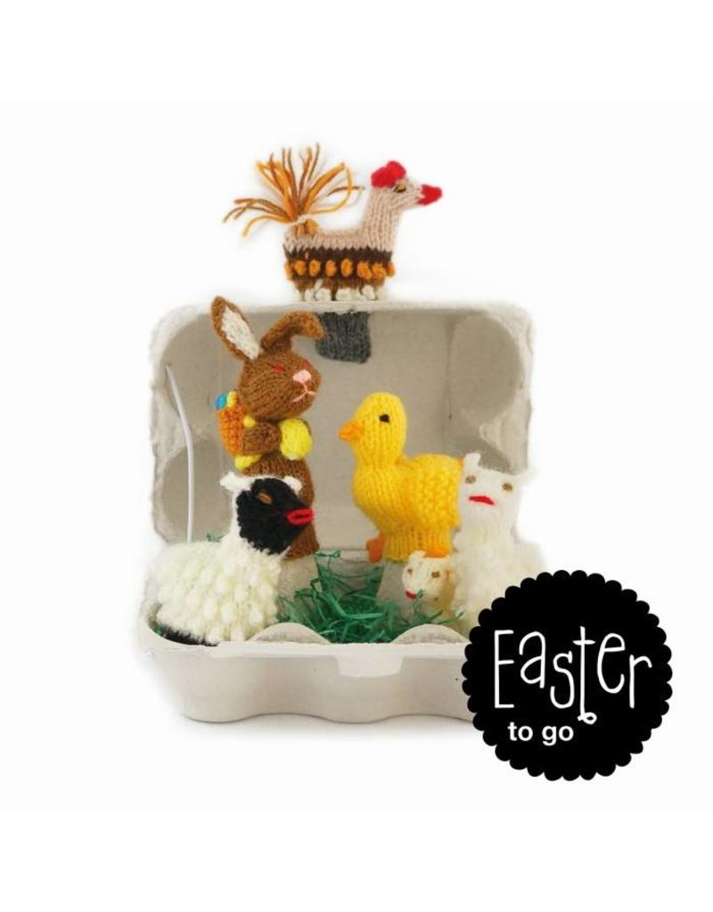 Titicaca finger puppets Easter to go