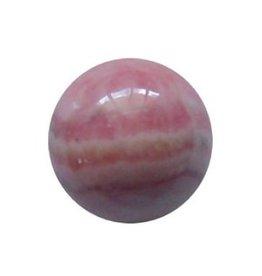 Interchangeable gemstone Rhodochrosite 10 mm